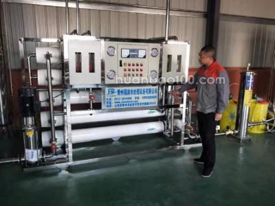 4T双级纯净水设备 福润水处理