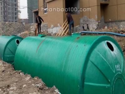 医院废水处理设备_洺膜_ 一体化地埋